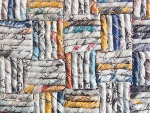 Cartalana:   Textures e filatura della carta