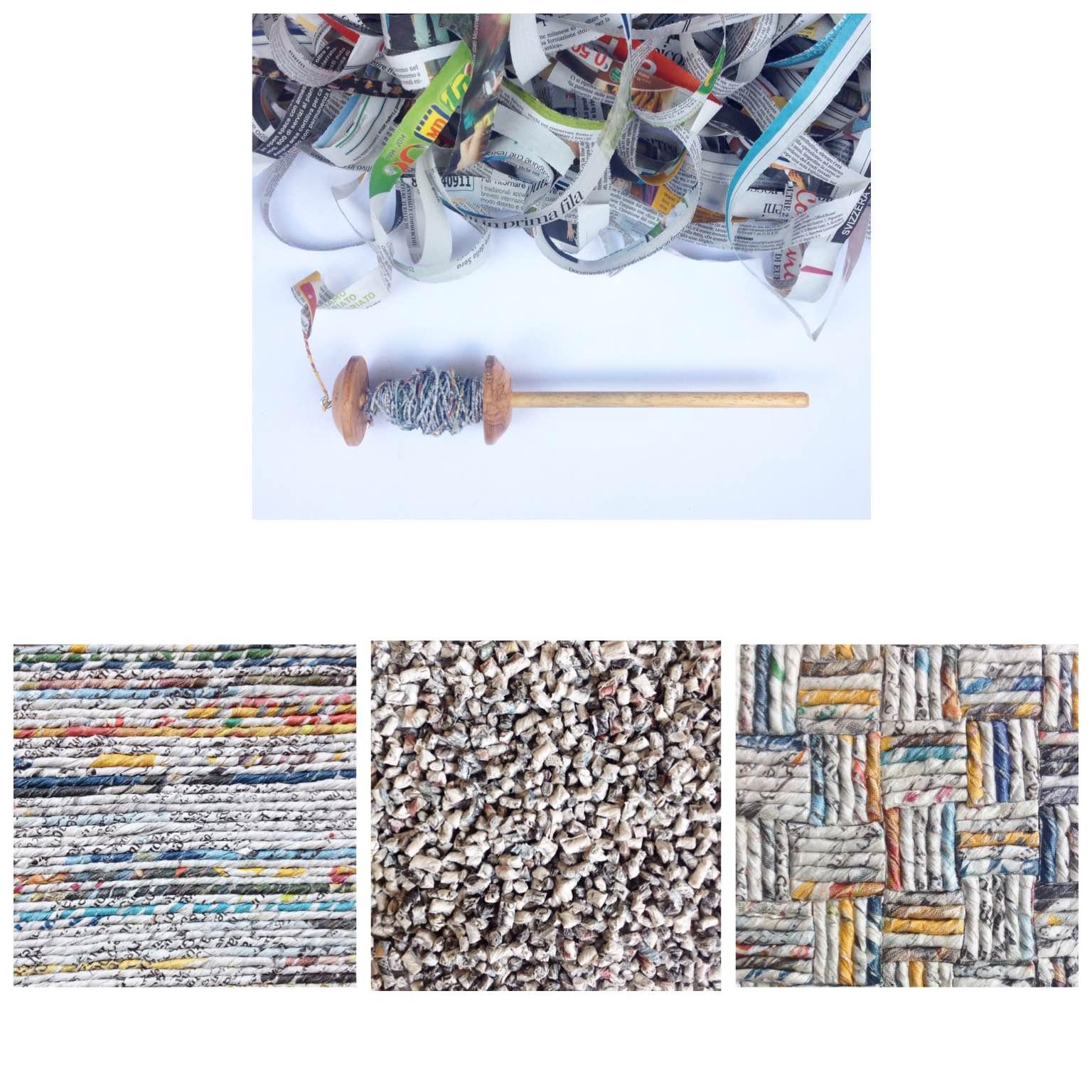 CARTALANA – Textures, filatura della carta e……..un po' di legatoria!