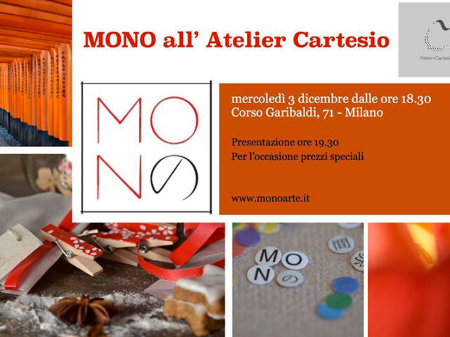 MONO all'Atelier Cartesio